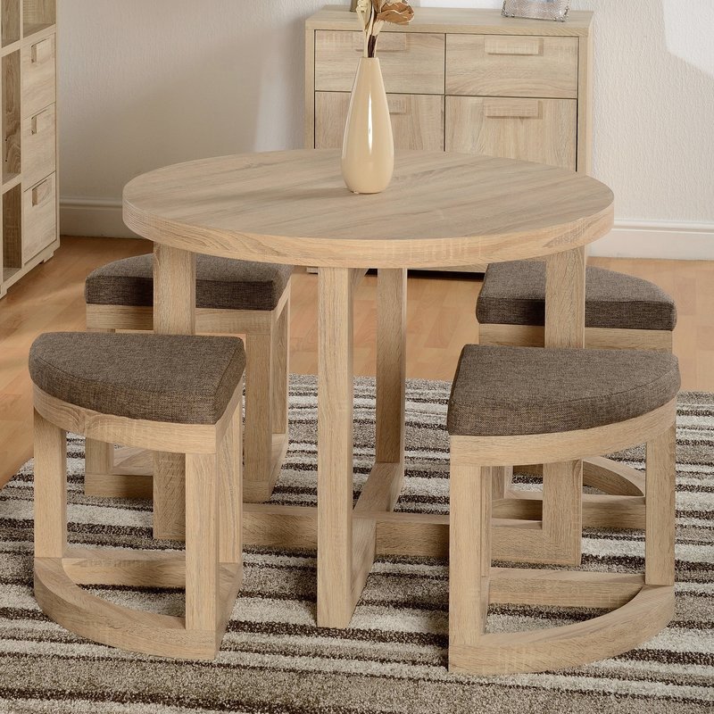Awesome Stowaway Dining Set In Sonoma Oak Home Interior And Landscaping Ologienasavecom